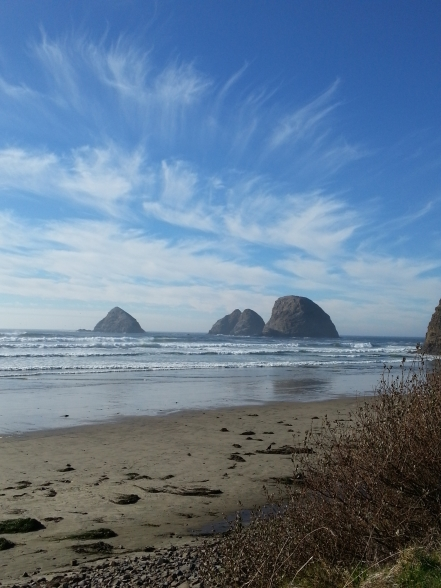 Oceanside-Oregon-Tillamook-Oregon coast- three arches