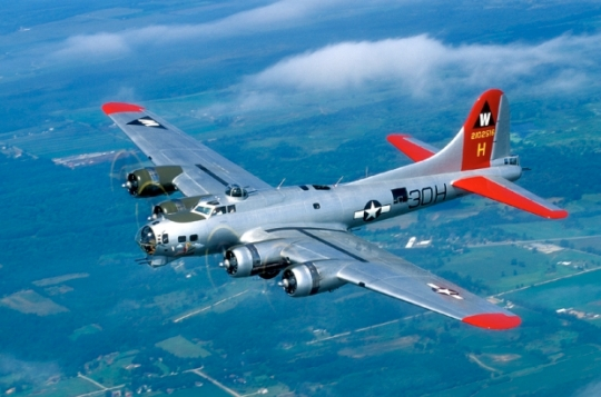 b-17-boeing-flying fortress-fortress-world war two