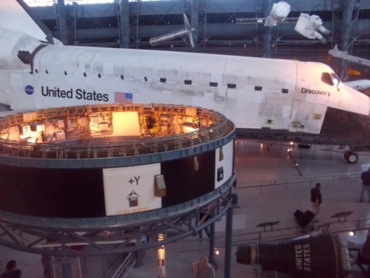space shuttle- discovery- nasa- stephen f udvar-hazy- washington d.c.-history