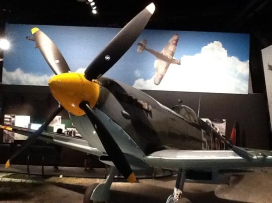 Boeing Field's Supermarine Spitfire.