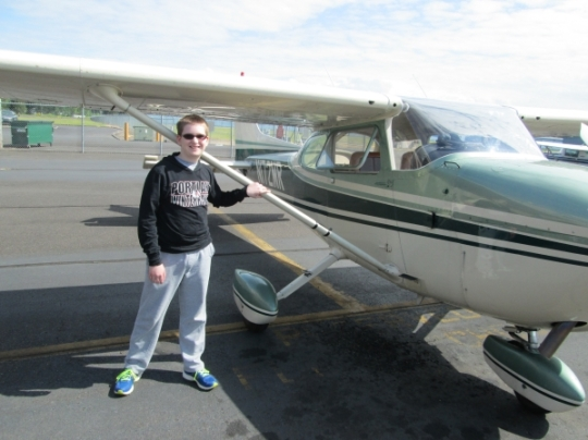 Cessna Skyhawk, Cessna, Gorge Winds Aviation, Troutdale
